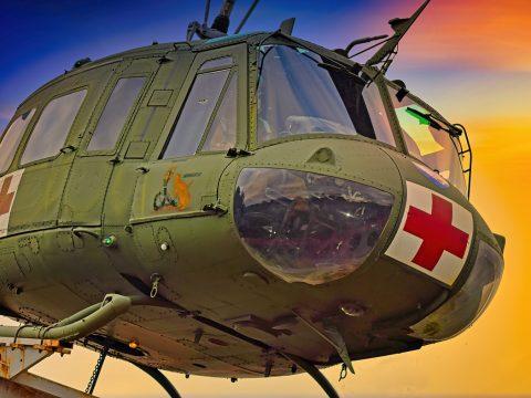 Huey Helicopter Medic Monument  - Engel9 / Pixabay